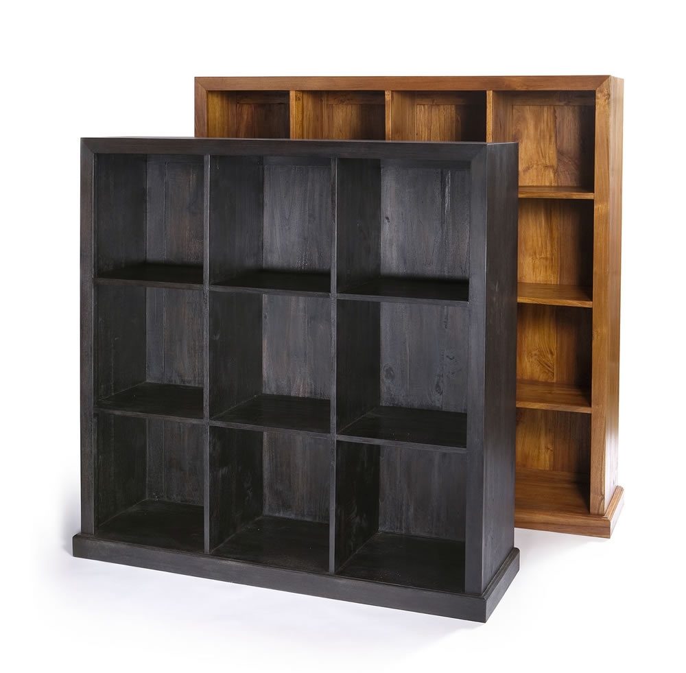 CLASSIC CUBICLE ENCLOSE BACK BOOKSHELF