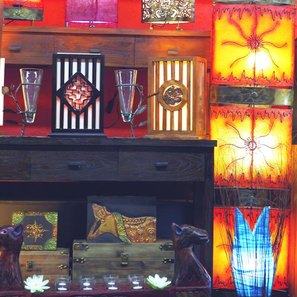 FIBERGLASS FLOOR LAMPS